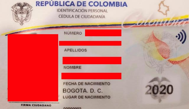 Requisitos para sacar la cédula en Colombia