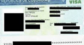 requisitos para sacar la visa por primera vez en Colombia